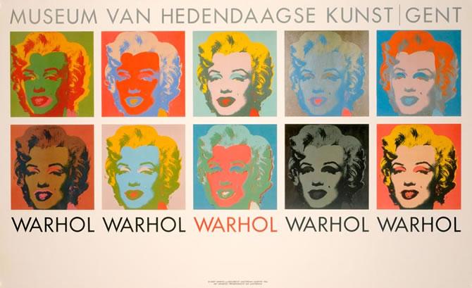 Andy Warhol(アンディ・ウォーホル)ポスター展、開催!