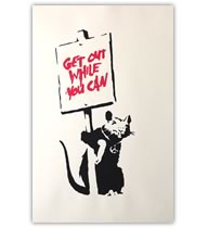 GET OUT WHILE YOU CAN - WCP Reproduction