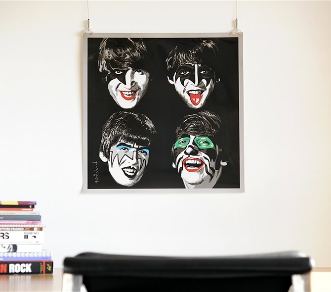 Beatles Kiss
