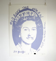 God Save The Old Queen -Blue