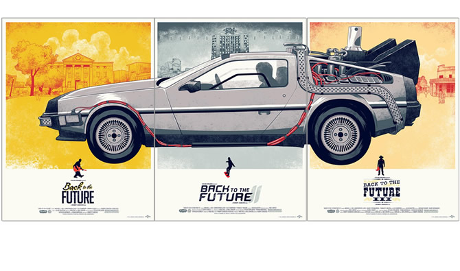 Back to the Future Part Ⅰ,Ⅱ,Ⅲ(3枚セット)