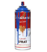 Spray Can -Blue