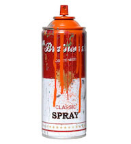 Spray Can -Orange