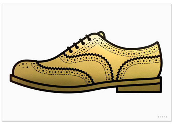 Gold Brogue