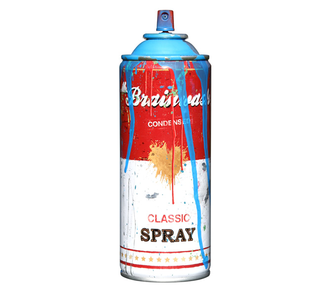 Spray Can -Cyan