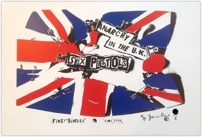 Anarchy in the UK - Canvas