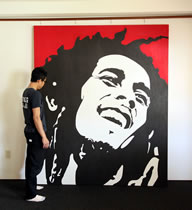 Bob Marley - Huge Canvas
