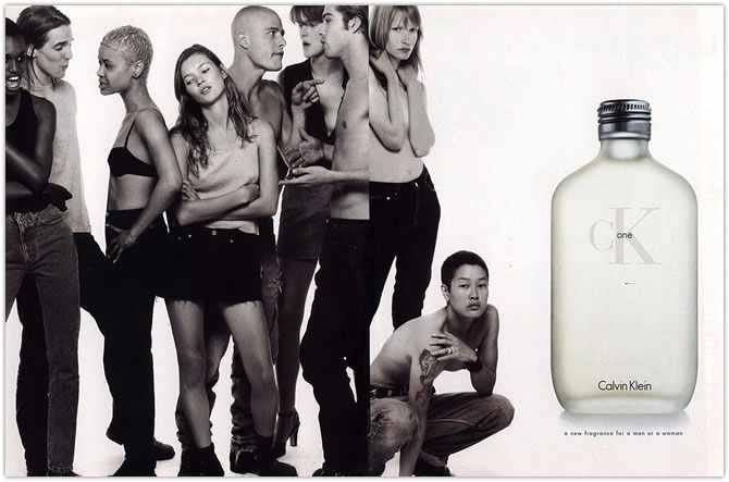 Kate Moss CK ONE