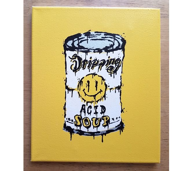 Dripping ACID SOUP - Canvas
