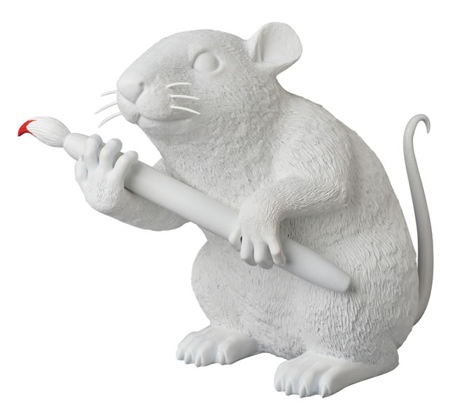 LOVE RAT Sculpture