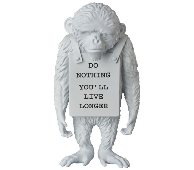 LAUGH NOW(MONKEY SIGN)
