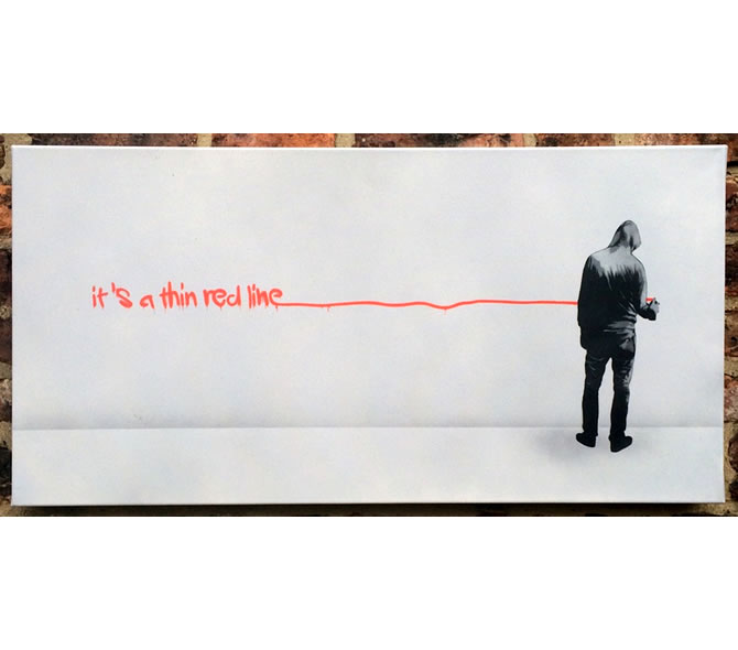 'It's A Thin Red Line Between Vandalism And Art