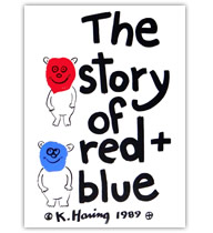 The story of red + blue