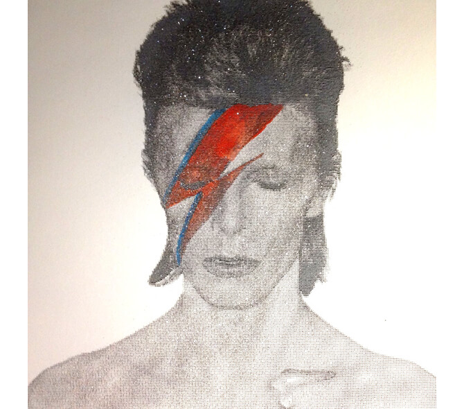 Love Aladin Sane Diamond Dust