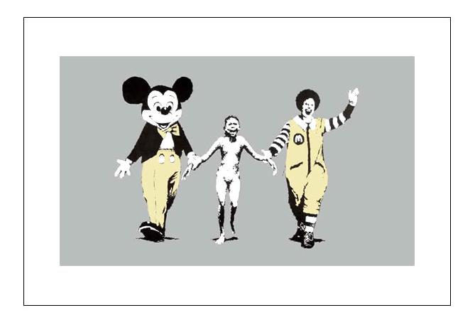 Banksy 'Napalm' が再入荷します。