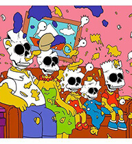 Simpsons Nuclear Family