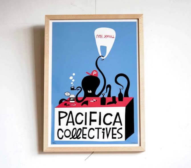 PACIFICA COLLECTIVES(額縁付き)