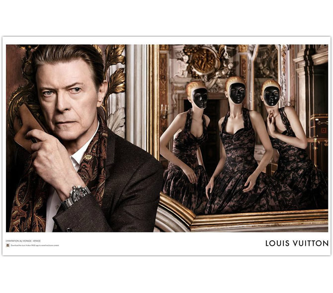 LOUIS VUITTON – David Bowie