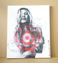 American Idol? Kate Moss Canvas - Pink